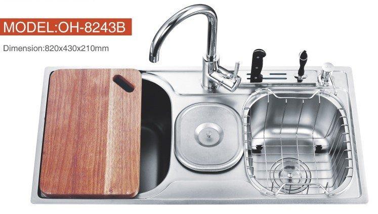 Armadio Da Cucina,In Acciaio Inox Industriale Lavello Per Cucina ...