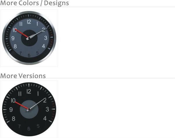 Analog Car Dashboard Clocks Design Glass Wall Clock Models