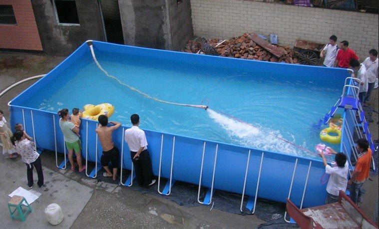Amazing Hot Sale Big Frame Swimming Pool, Garden Pool, Rectangular Pool