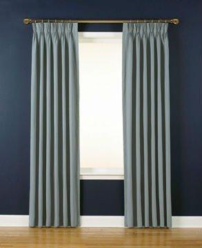 estndar de moda pliegues pizca cortinas