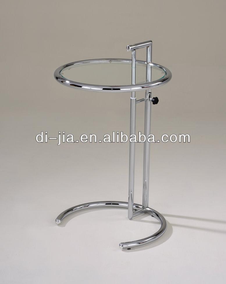 glastisch rund h henverstellbar. Black Bedroom Furniture Sets. Home Design Ideas