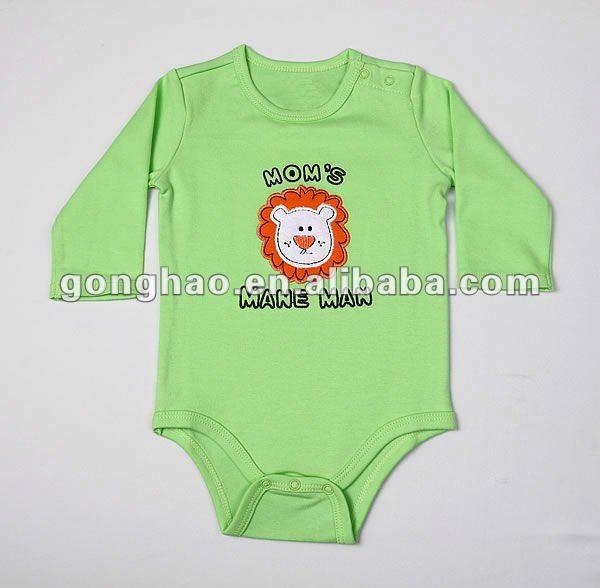 ropa de bebe bordada