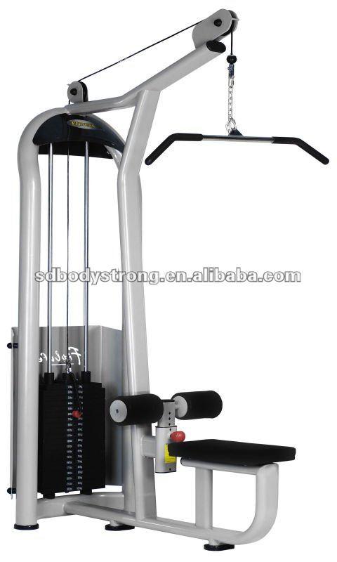 Fuerza gimnasio m quina a6 012 alta pully para gym club for Maquinas para gym