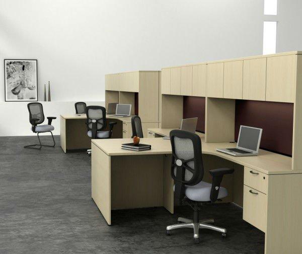 Laminate Office Executive Desk Workstation Furniture