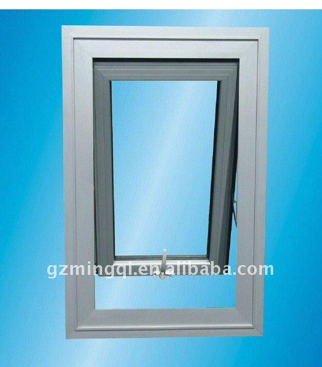 Alum Frame Windows : Glass window double windows price aluminium