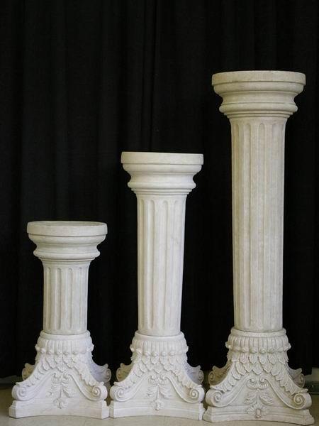 marble interior decorative columns - Decorative Columns