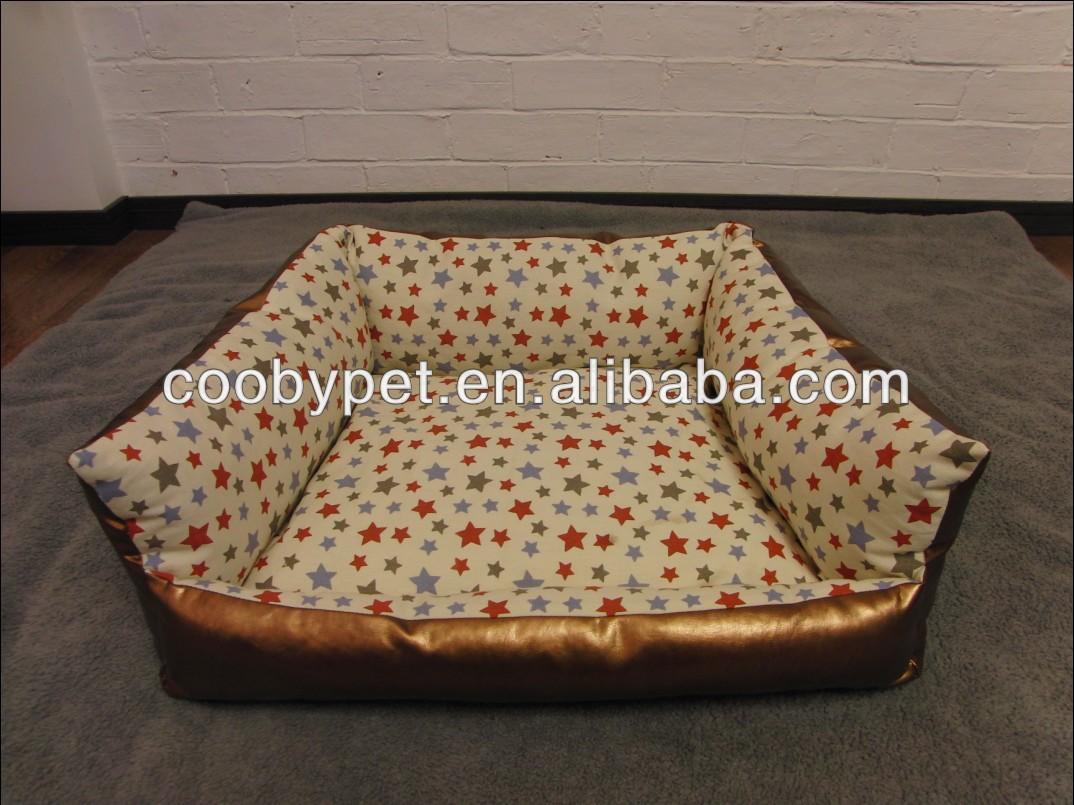Luxury Pu Leather Cover Pet Sofa - Buy Luxury Pet Sofa,Print Dog Bed ...
