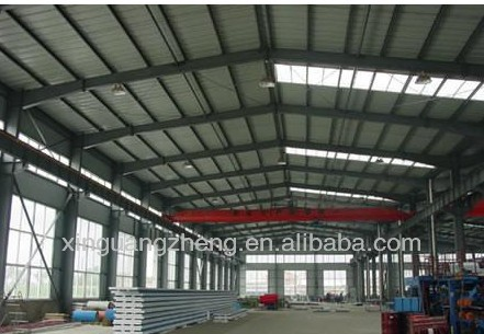 pre engineered light steel structural warehouse building