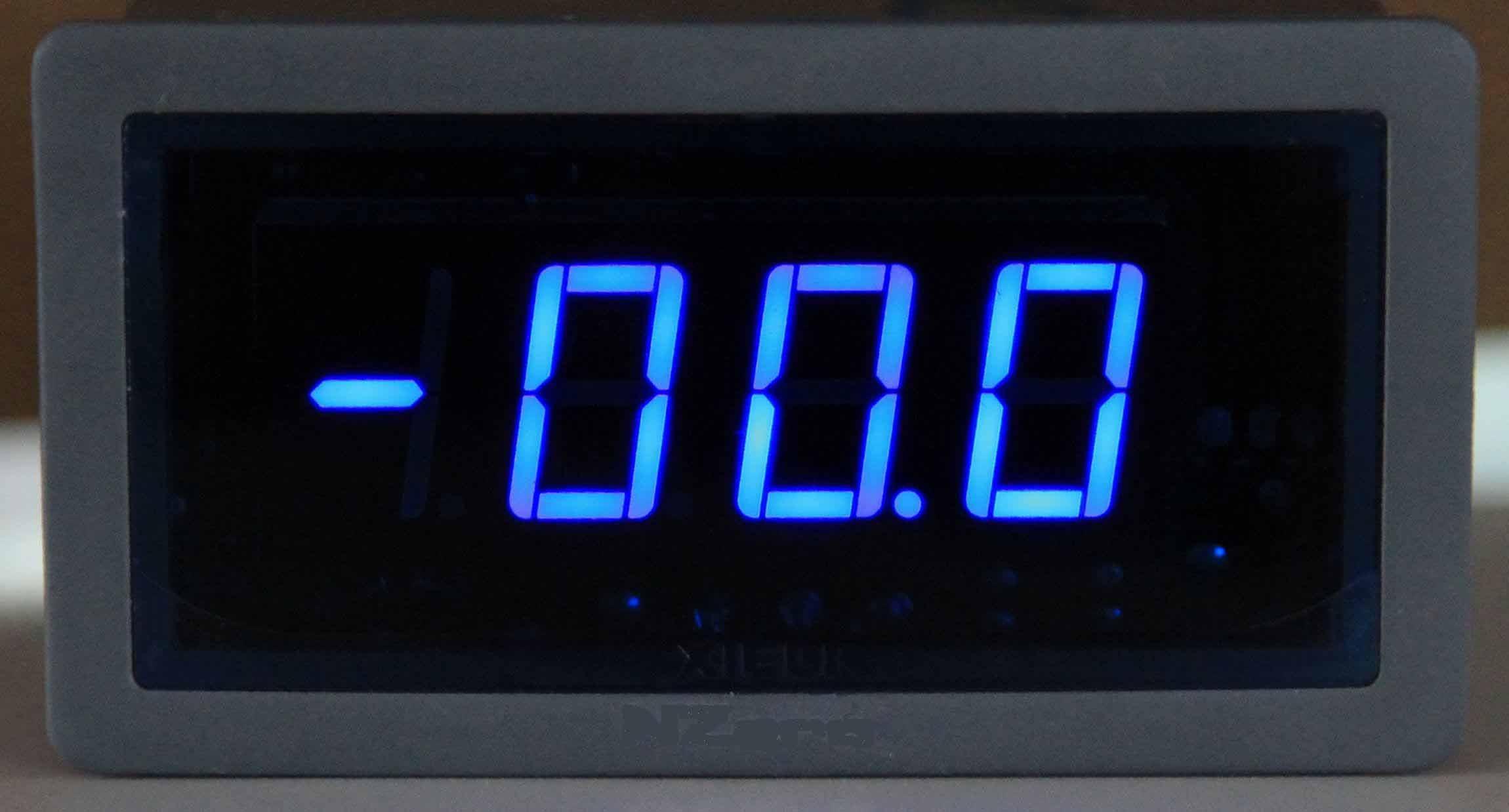 2 Inch Digital Panel Meter : Digital dc ac ampere panel meter buy