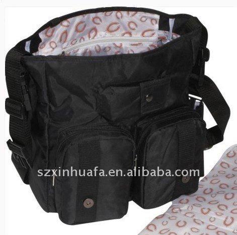 (XHF-MUMMY-012) baby diaper messenger tote
