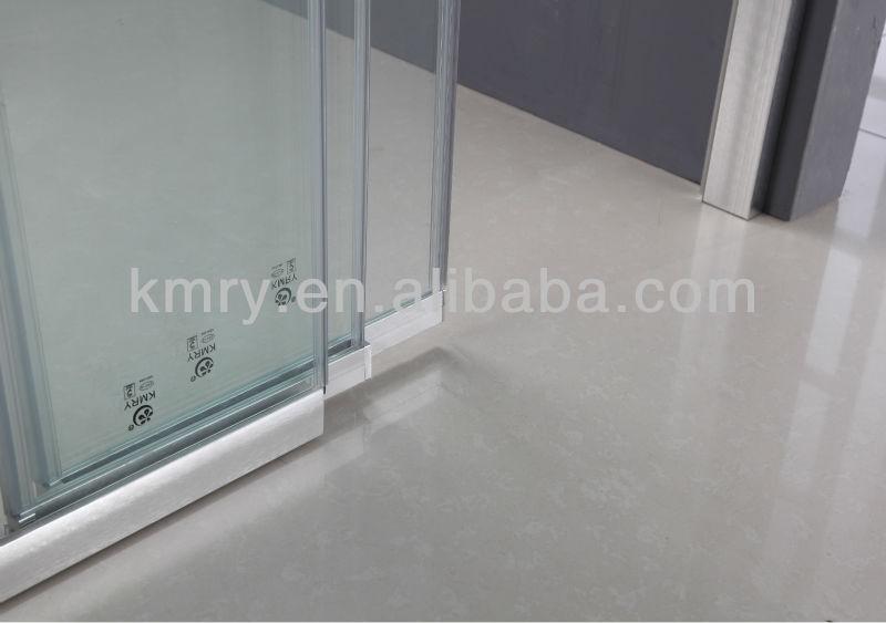 3 Door Folding Smart Glass Shower Door Without Bottom Rail (KD4101) Part 45