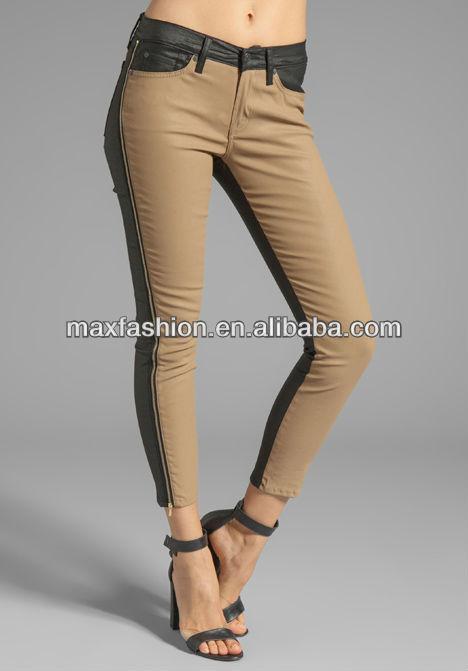 New Look Black And Brown Women Skinny Jeans - Buy Black And Brown ...