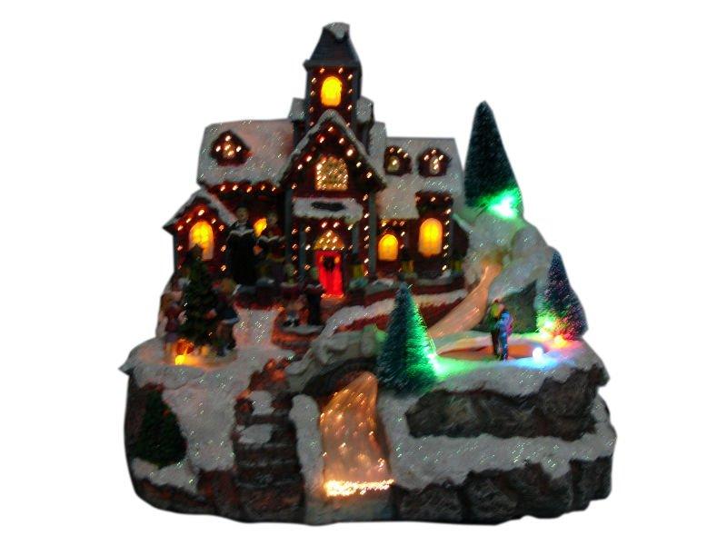 Christmas Village,Lighted,Musical & Animated - Buy Christmas ...