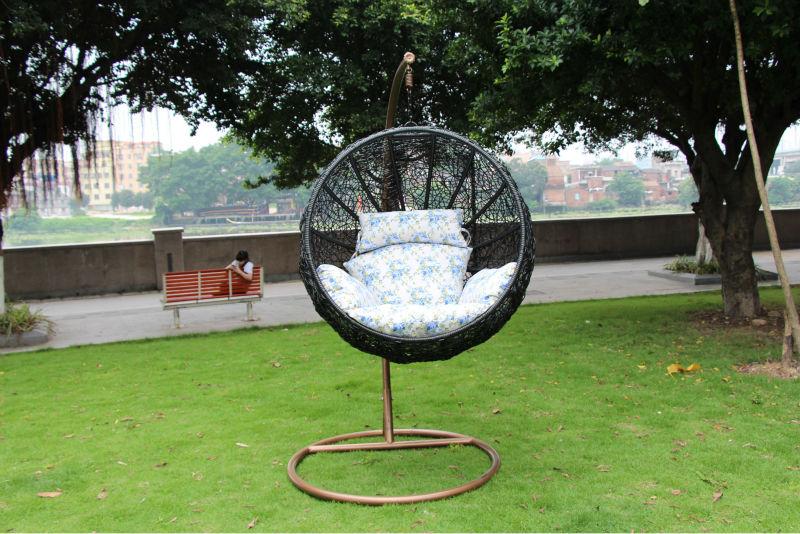 Wholesale Egg Chaped Swing Hammock Chair Swing Chair Hanging Pod Chair  Rattan Hammock Chair Swing Hanging