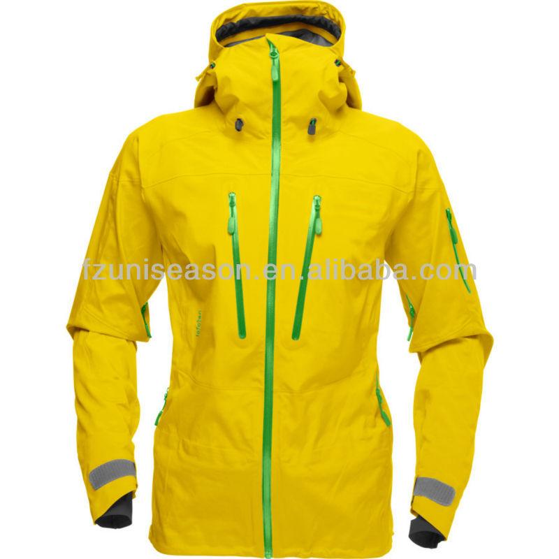 Waterproof Yellow Women's Ski Snowboard Jacket