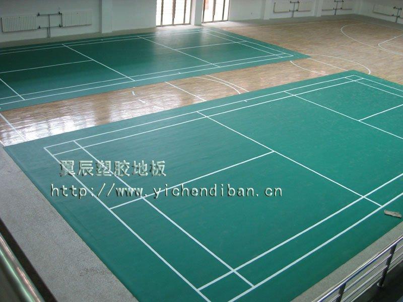 standard size pvcvinyl plastic floor badminton sports floor mat