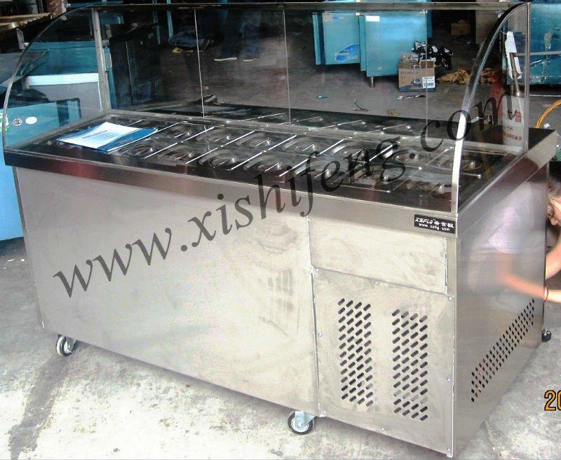 Xsflg Salad Bar Counter / Salad Bar Cooler / Counter Top ...