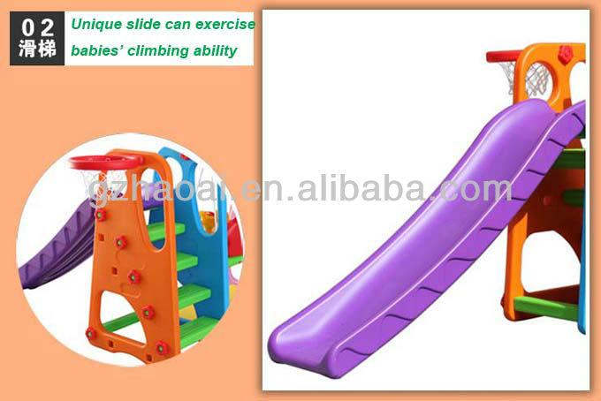 Hl 1234 Children Exciting Amusement Park Plastic Slide