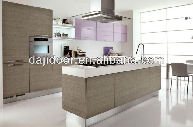 Melamina Cucine Moderne Con Isola Dj-k307 Membrana - Buy Cucine ...