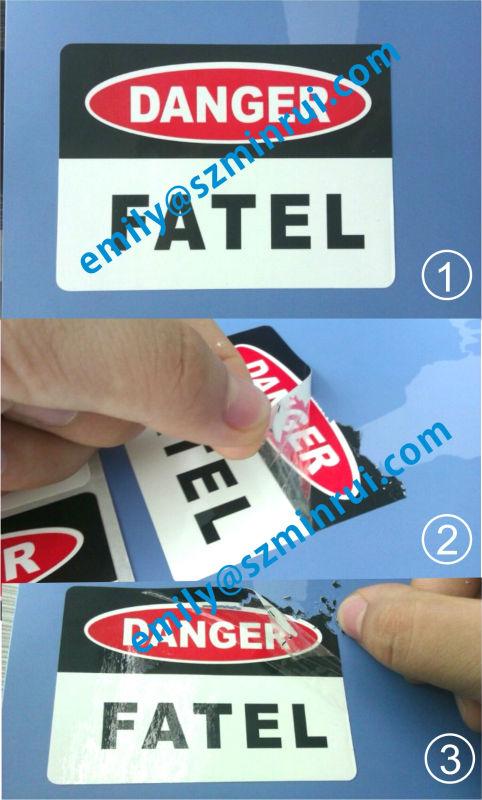 Custom Outdoor Use Weather Resistant Caution Warning Vinyl Egg - Graffiti custom vinyl stickers