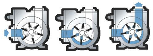"Blackmer self-priming rotary sliding vanes impeller fuel pump 2"" 3"" 4"""