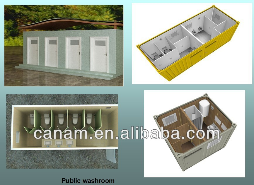 CANAM- living container house with sanitary fittings