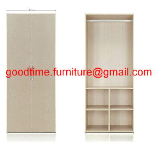 Panel de madera muebles armario de melamina con precio for Muebles a bajo precio