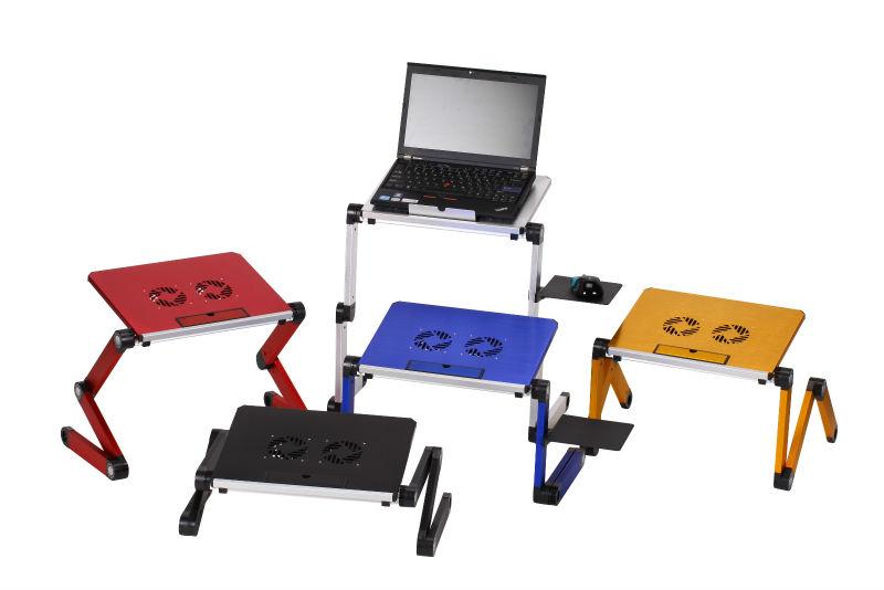 Adjustable Stand Up Desk Folding Laptop Computer Holder Stand