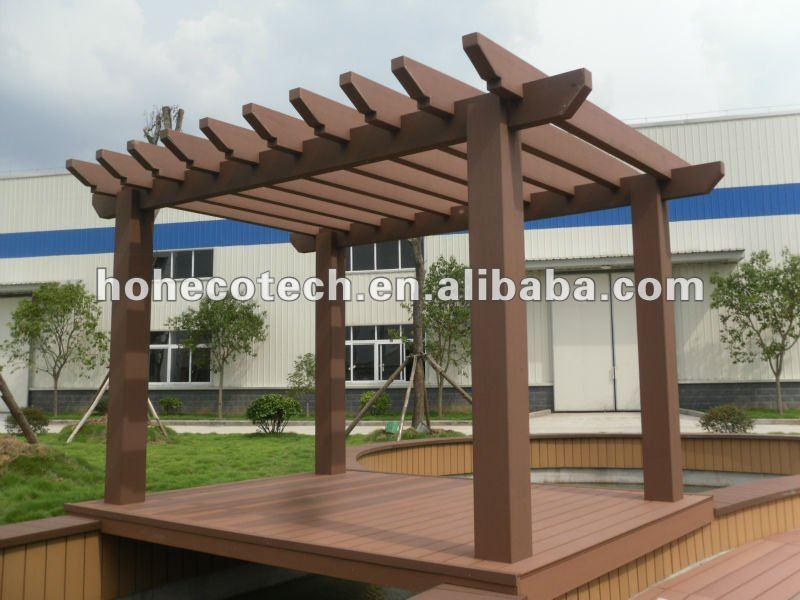 Wood Plastic Composite Pergola Outdoor Garden Pergola Wpc Pergolas Gazebo Buy Wpc Pergolas Wpc
