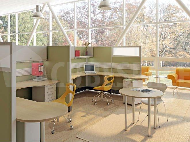 Modular Workstation Modern Office Furniture Easy Installation ...