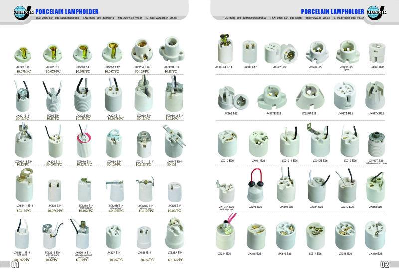 E14 Lamp Base Light Socket Lampholder Holders For Bulb