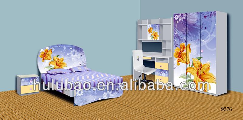 957i colorful laser print mdf children bedroom set made in china buy