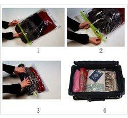 H Q Clothes Vacuum Sealer Bag