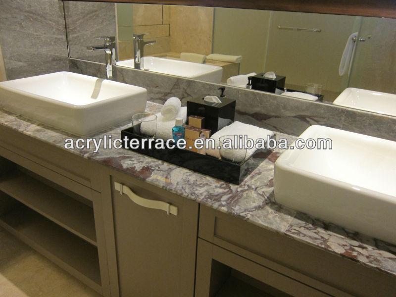 Hotel Guest Room Bath Tray Fa140301021 Acrylic Amenity