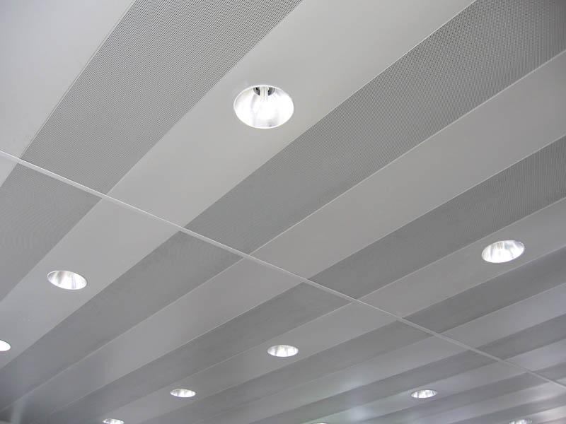 Aluminum Decorative Metal Ceiling Tile C Shaped Linear