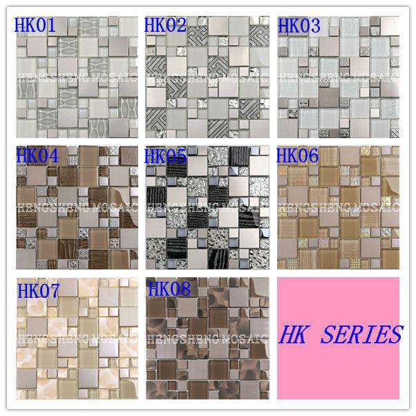 Free Mosaic Glass Tile Pattern And Rubberizing Kitchen