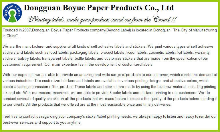 Vinyl Waterproof Color Adhesive E Liquid Bottle Sticker Cigarette Labels Custom Printed
