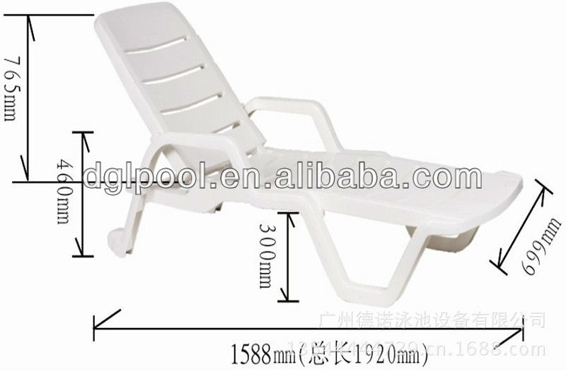 2013 The Most Popular Outdoor Plastic Lounge Chairs Waterproof Outdoor Furniture Beach Chair Buy Swimming Pool Chaise Lounge White Plastic Lounge Chair Sun Bed Product On Alibaba Com