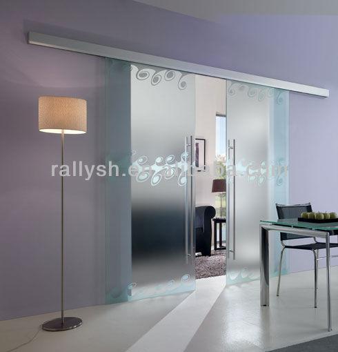 new design aluminum glass sliding door interior or