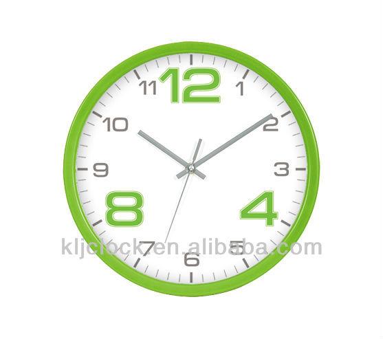Ide Jam Wh 6756 Kertas Mewarnai Jam Dinding Dengan Desain Khusus