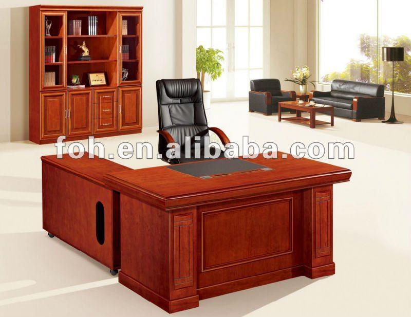 Profesional escritorios manzana roja oficina muebles de - Modelos de escritorios de madera ...