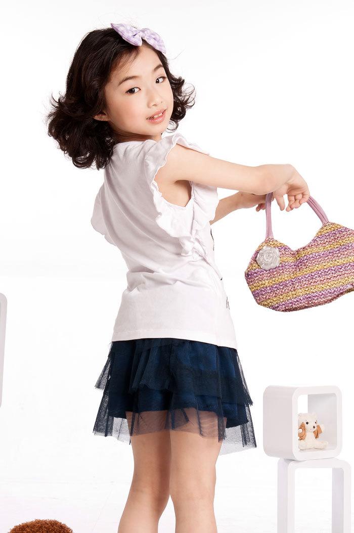 Little Girls Mini Skirts Free Shipping Summer Little Girl
