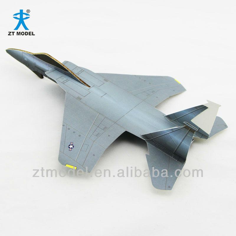 F-15 Paper Basic Model Plane Kit