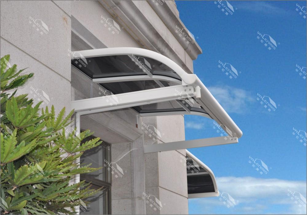 Free standing aluminum balcony awning buy balcony awning for Balcony canopy