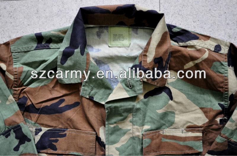 Armee 50% 50% Nylon Baumwolle Ripstop Tarnung Bdu Uniform Billig ...