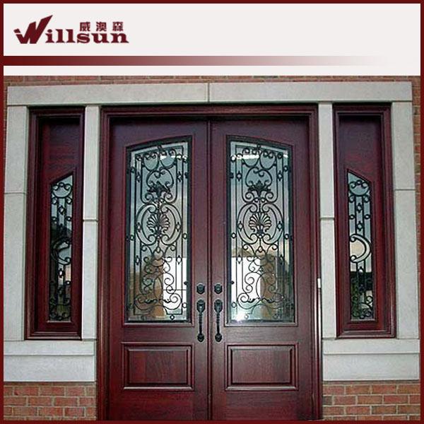 puerta de entrada principal utilizado puertas de hierro forjado puerta
