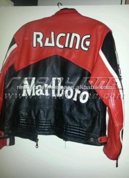 La Homme En Buy Noir Veste Marlboro Moto Cuir r5qprAw