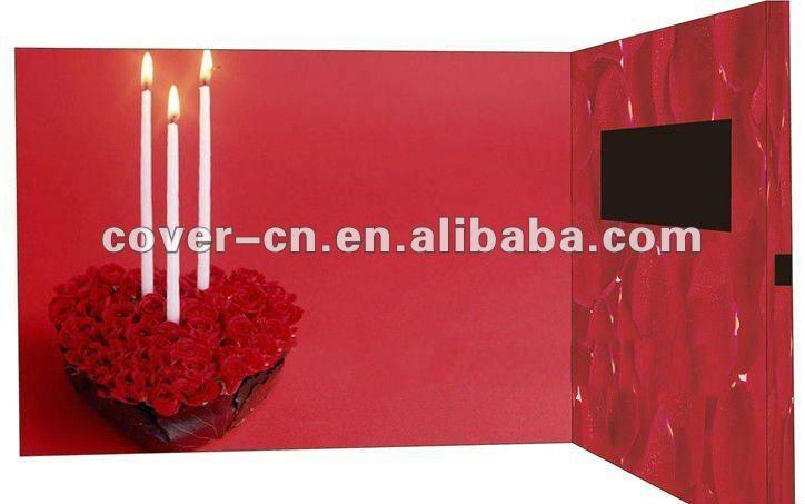 Happy Birthday Video Greeting Card As Promotion Gifts Buy – Happy Birthday Card Video