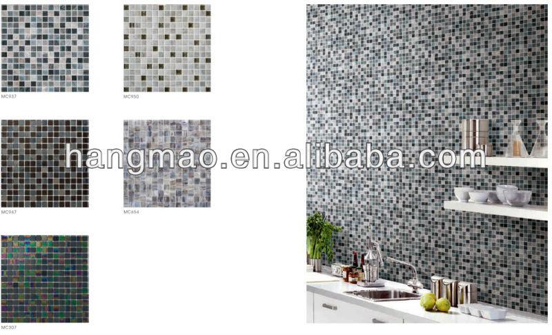 Colorato Mattonelle Di Mosaico Per Cucina - Buy Mattonelle Di ...