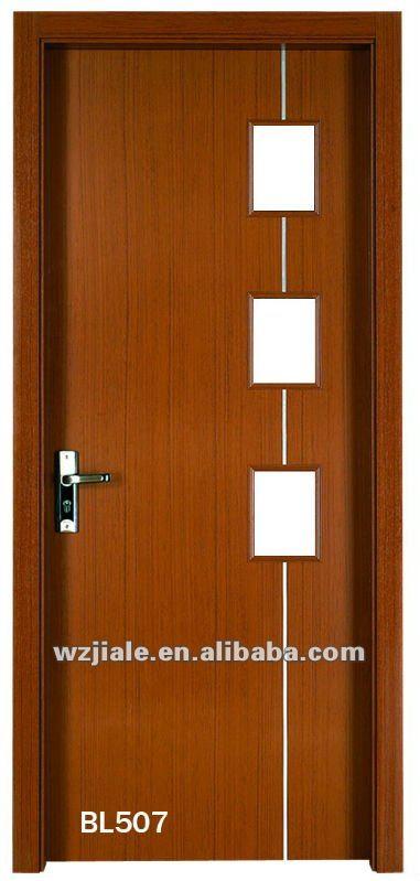 Vidrio interior de madera puertas correderas buy product for Puertas interiores de madera con vidrio